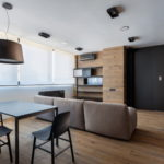 Интерьер гостиной в стиле минимализм (7)