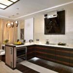 Интерьер кухни в стиле минимализм - фото (5)
