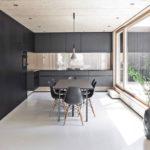 Интерьер кухни в стиле минимализм - фото (9)