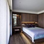 Интерьер спальни в стиле минимализм - фото