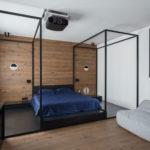 Интерьер спальни в стиле минимализм - фото (3)