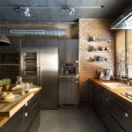 Кухня в стиле лофт - фото (5)