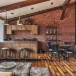 Кухня в стиле лофт - фото (8)