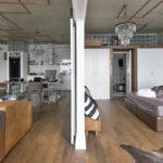 Стиль лофт в интерьере квартиры - фото (5)