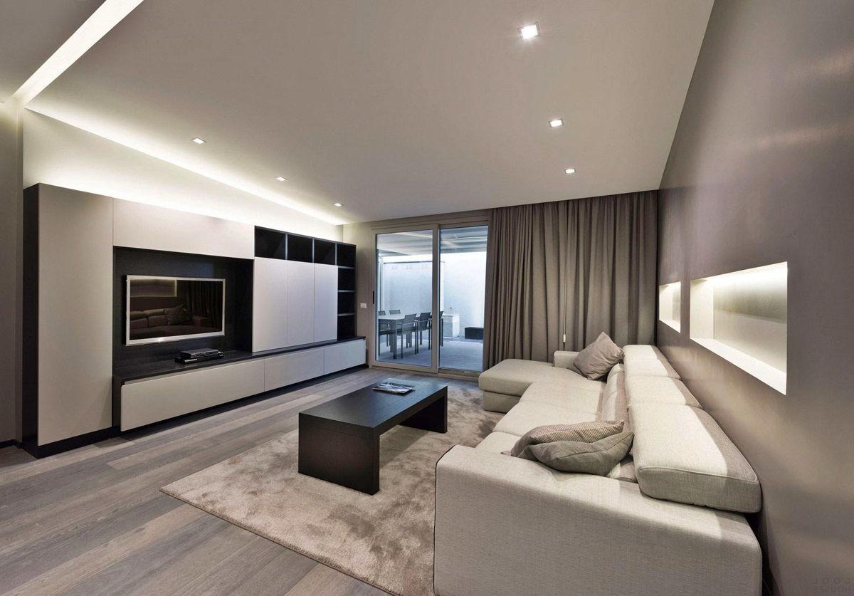 Уютный интерьер в стиле минимализм