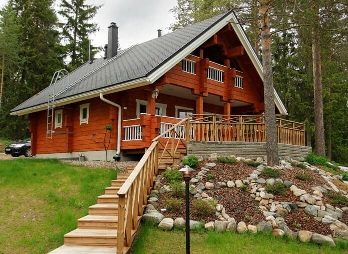 Дом в финском стиле
