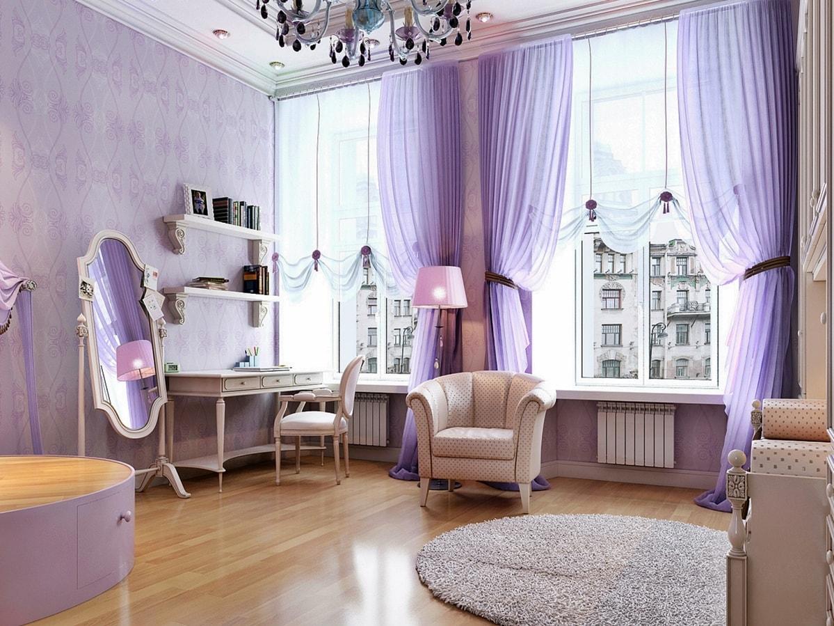 Романтизм в интерьере квартиры