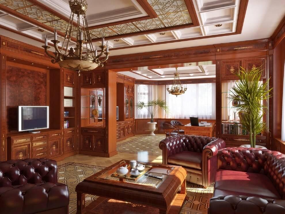 Элитные дома интерьер в английском стиле