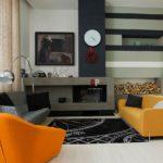 конструктивизм в интерьере, мебель