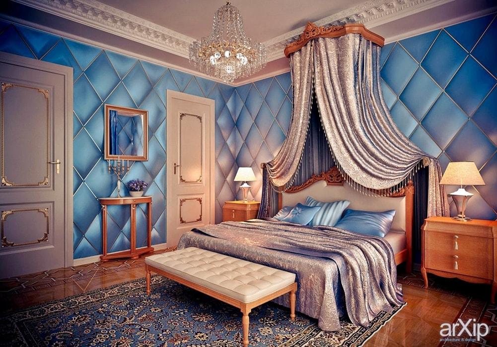 Стиль ренессанс в интерьере спальной