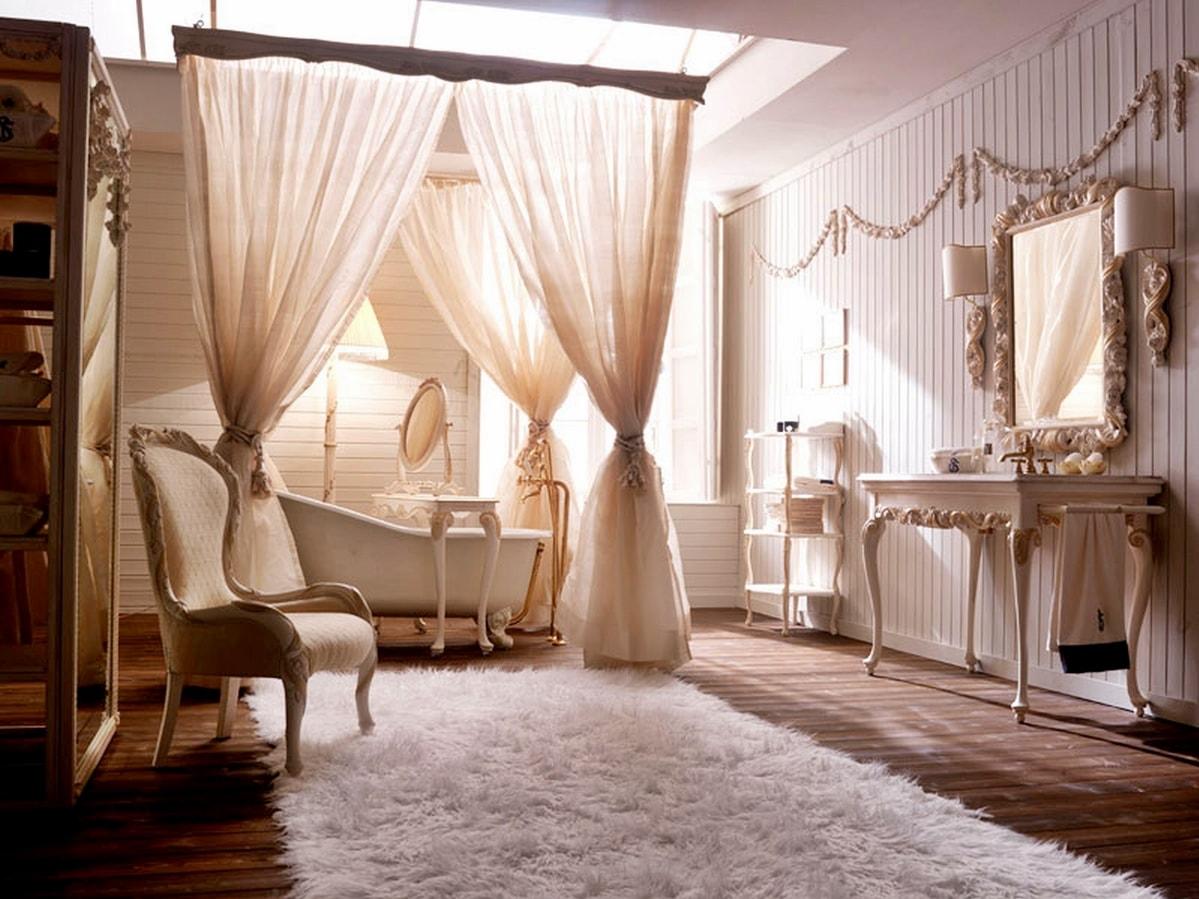 романтизм в интерьере ванной фото
