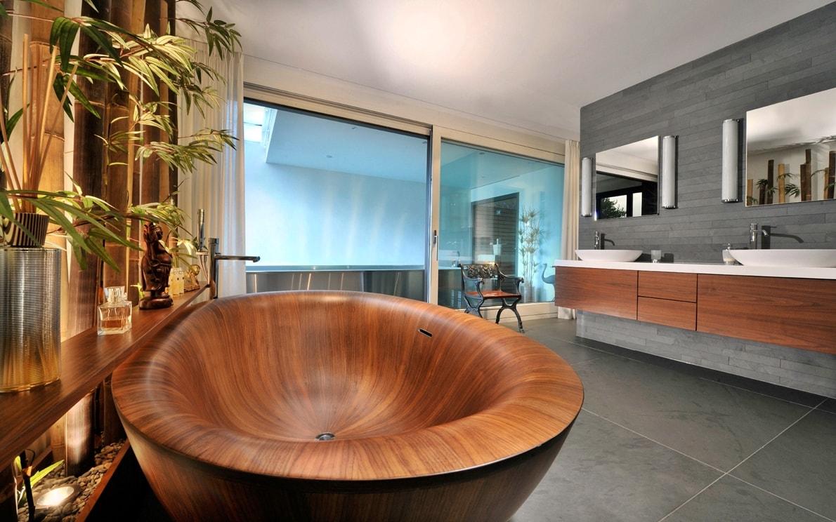 деревянные ванны фото