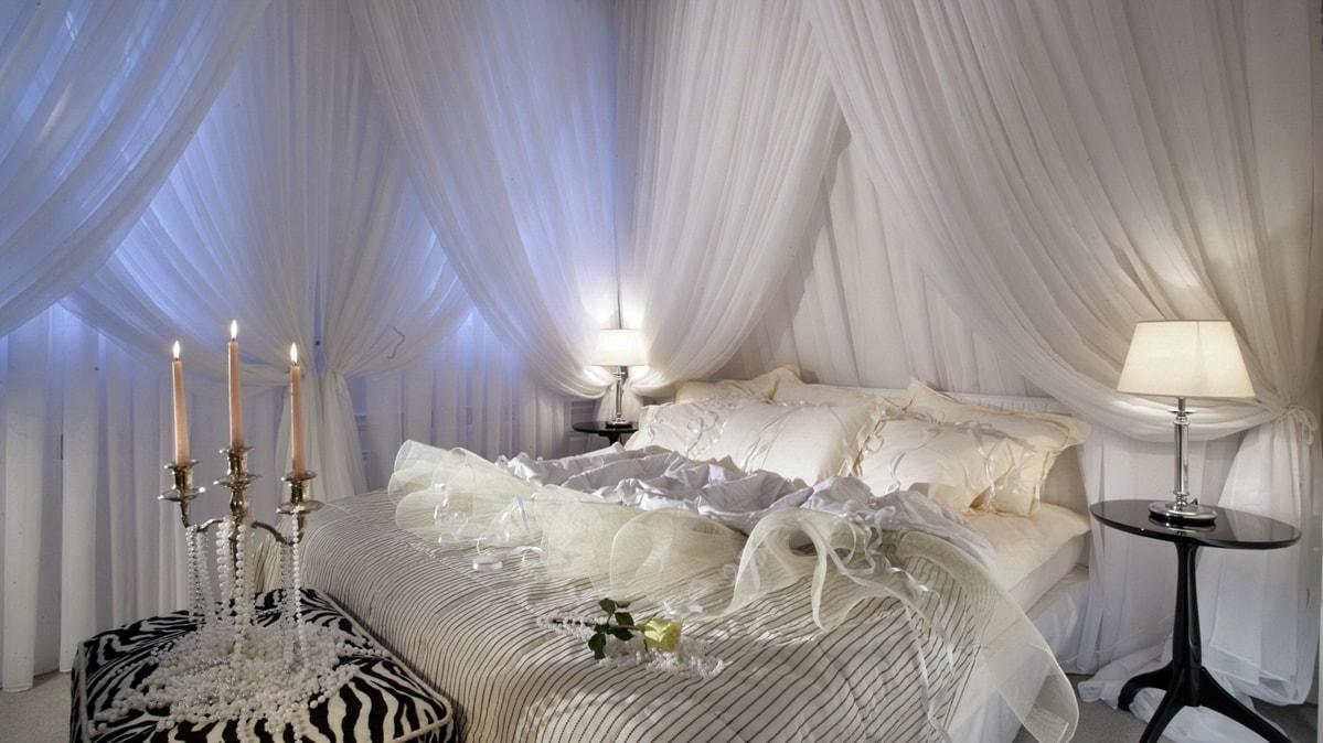 романтизм в интерьере спальни фото