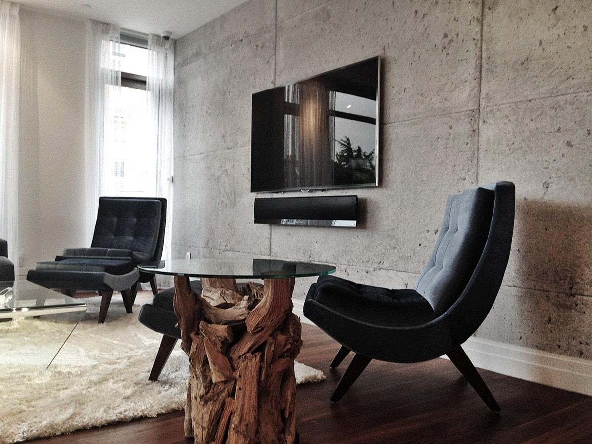Мебель в стиле брутализм