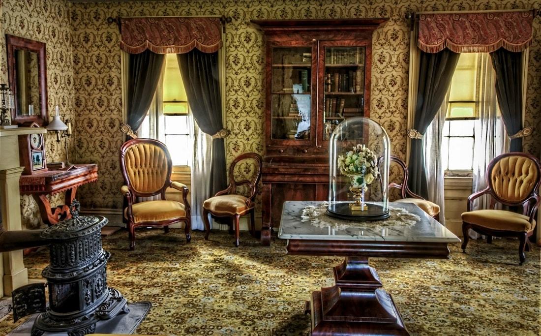 Викторианский стиль - стили интерьера