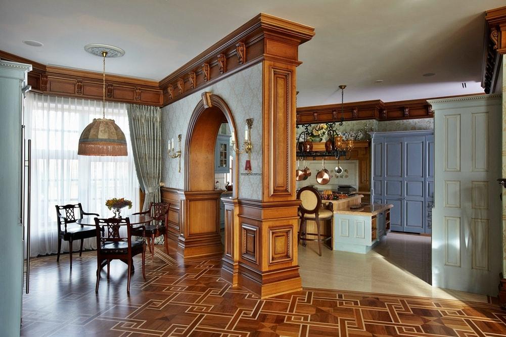 Георгианский стиль в интерьере кухни