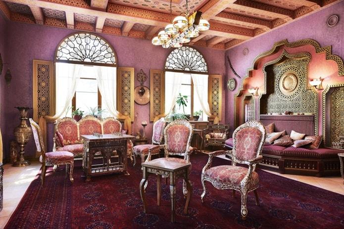 Интерьер в османском стиле