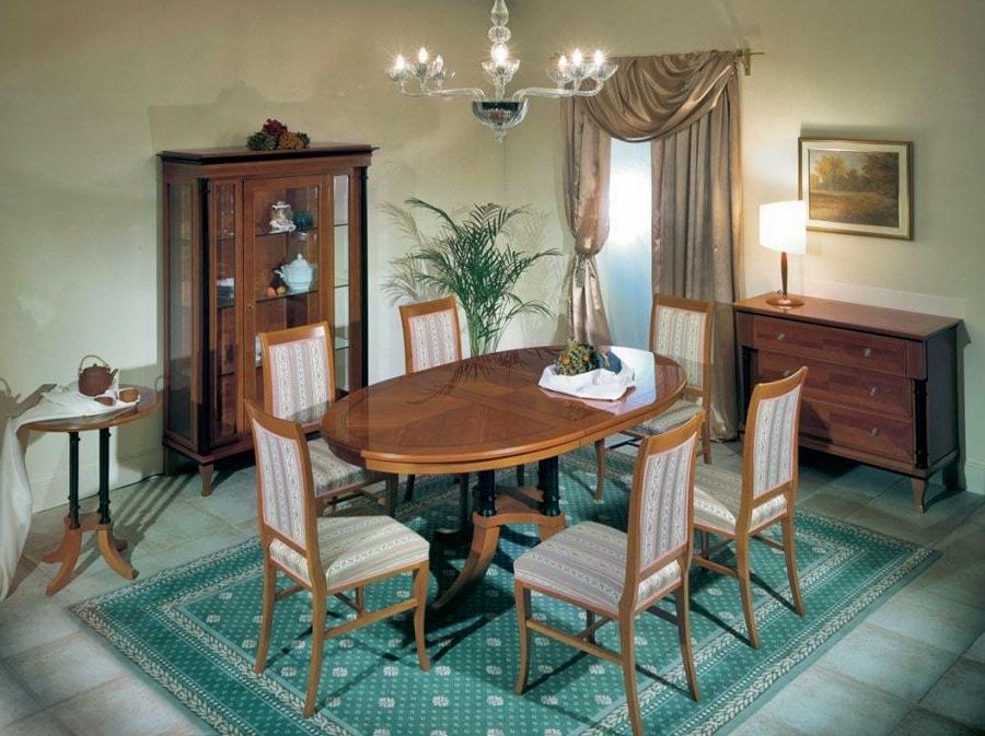 Бидермейер в интерьере: мебель