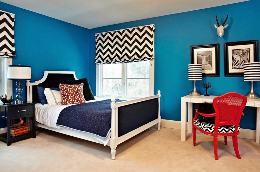 Стиль авангард в интерьере спальни