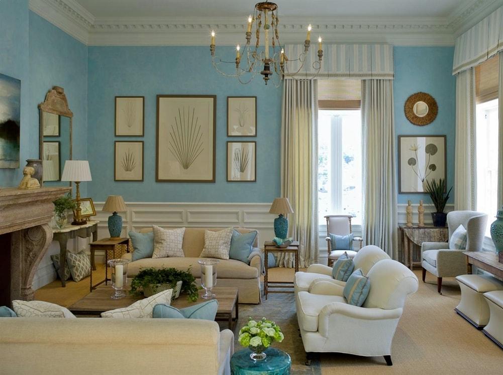 Георгианский стиль в интерьере гостиной