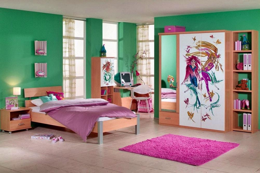 Стиль манга в интерьере детской комнаты