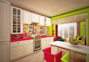 Стиль авангард в интерьере кухни фото