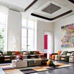 Стиль авангард в интерьере гостиной комнаты фото 3
