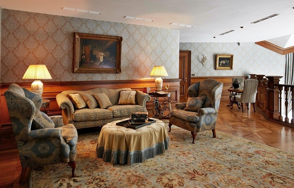 Георгианский стиль в интерьере - мебель