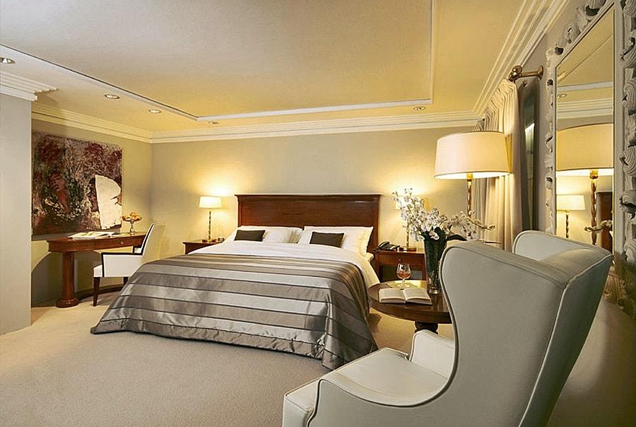 Спальная комната в стиле бидермейер