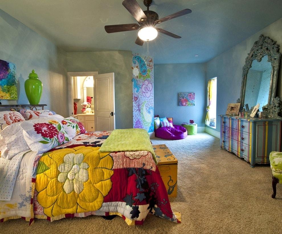 Детская комната в стиле бохо