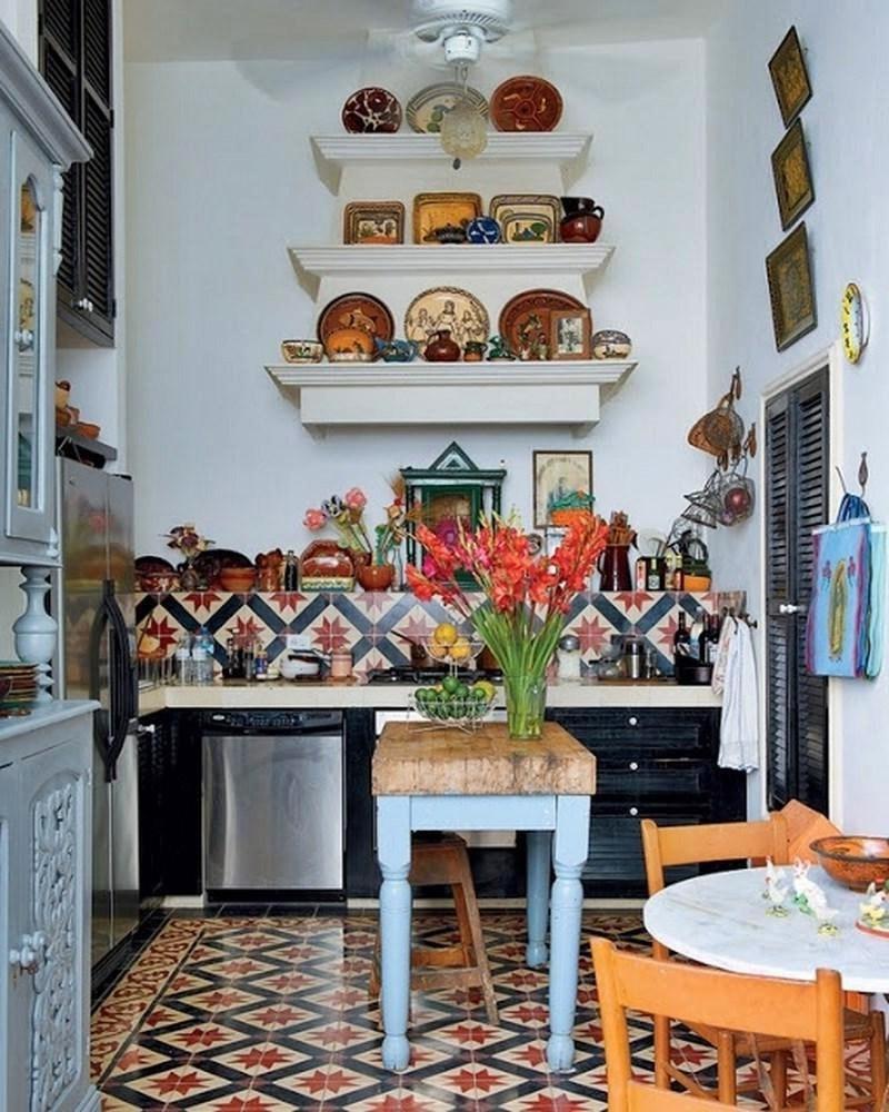 Бохо в интерьере кухни фото