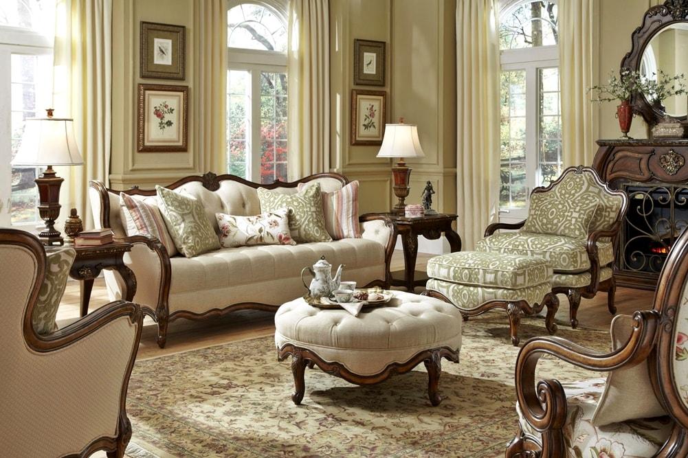 Викторианский стиль в интерьере - мебель