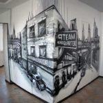 граффити в квартире фото 1