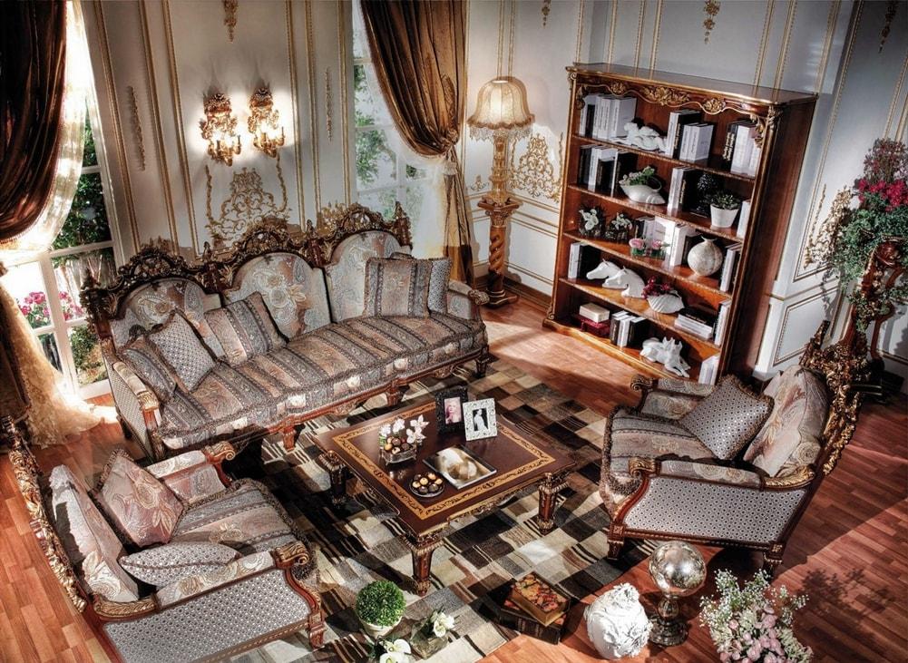 Версаль в интерьере гостиной комнаты фото