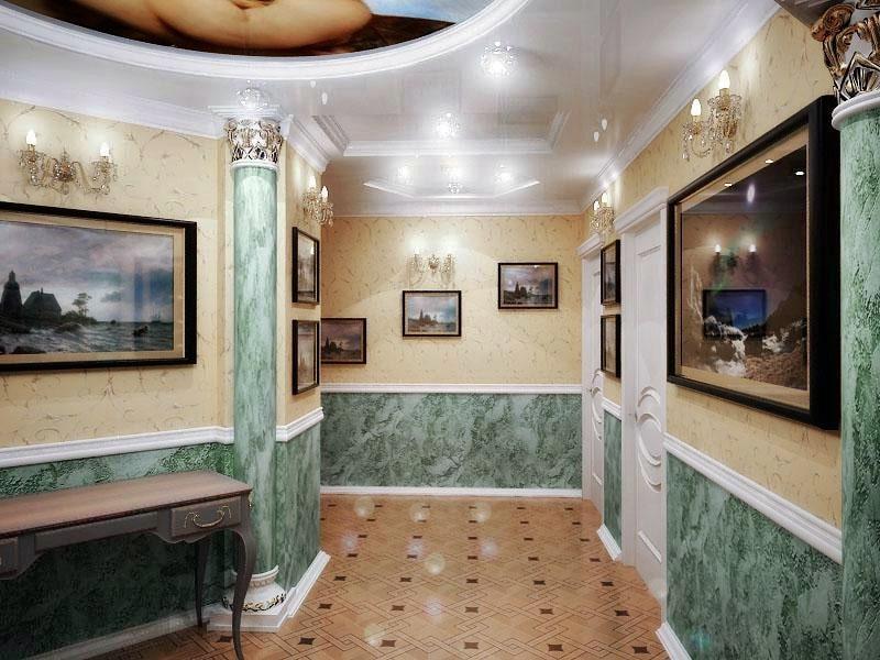 Венецианский стиль в интерьере - декор