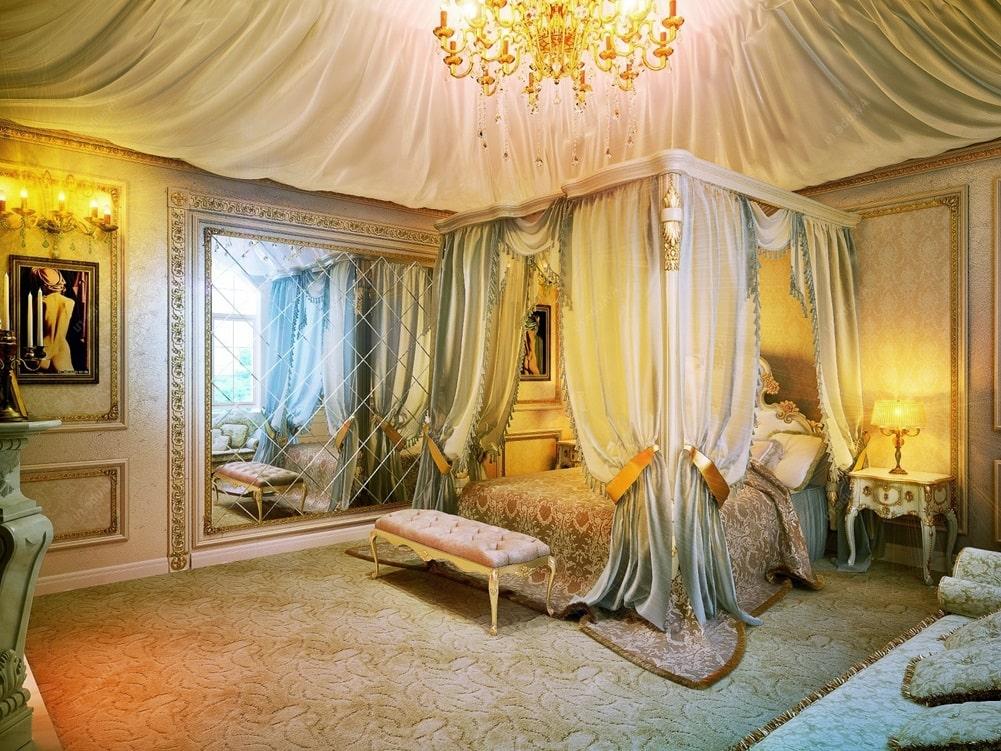 Венецианский стиль в интерьере фото 1