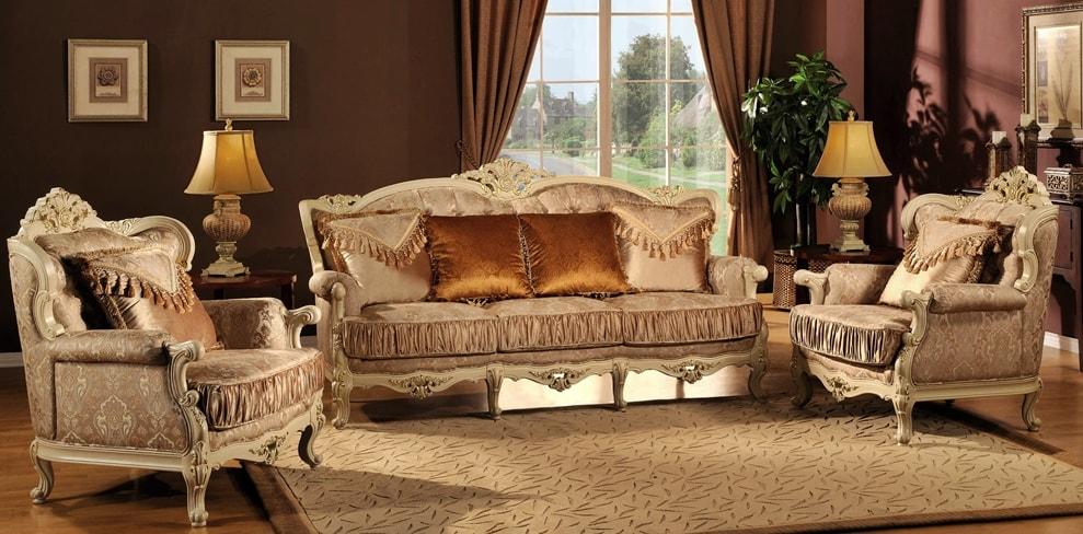 Стиль версаль в интерьере - мебель