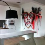 граффити в квартире 11