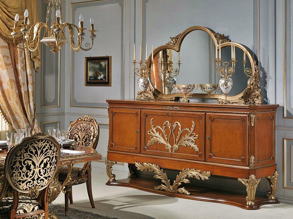 Версаль в интерьере - фото декора