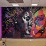 граффити в квартире 15