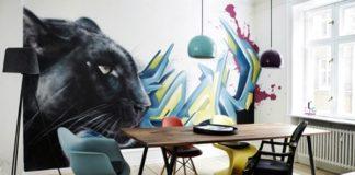 граффити в квартире фото