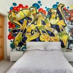 граффити в квартире 3