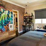 граффити в квартире 6