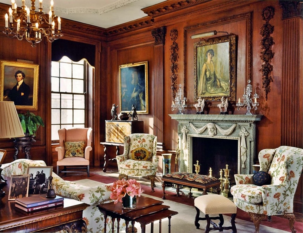 Викторианский стиль в интерьере - декор