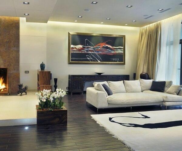 Стиль онтоарт в интерьере гостиной фото