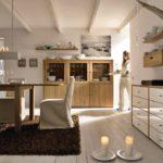 Экостиль в интерьере кухни 2