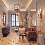 Стиль неоклассика в интерьере ванной фото
