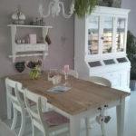 Кухня в стиле шебби шик - мебель