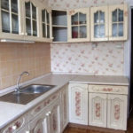 Кухня в стиле шебби шик - фото 13