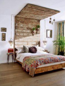Экостиль в интерьере: мебель для спальни фото